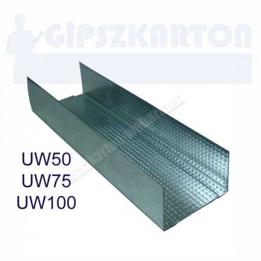 Gipszkarton profil UW50-75-100