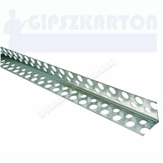 Gipszkarton ALU élvédő 20*20mm
