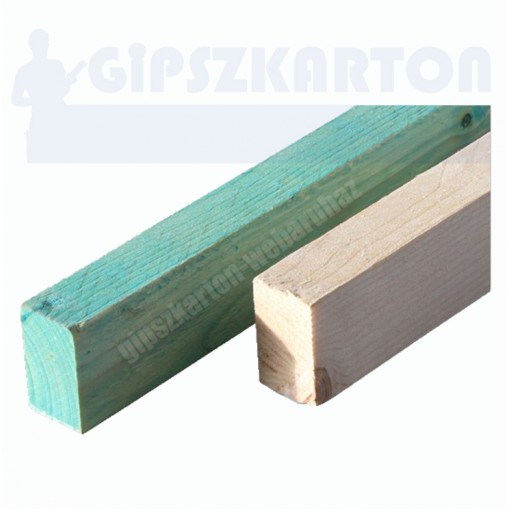 Gipszkarton léc / egalizált / 4m