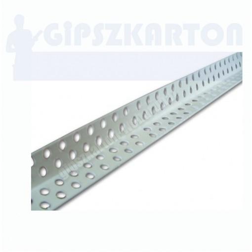 Gipszkarton PVC élvédő 21*21mm