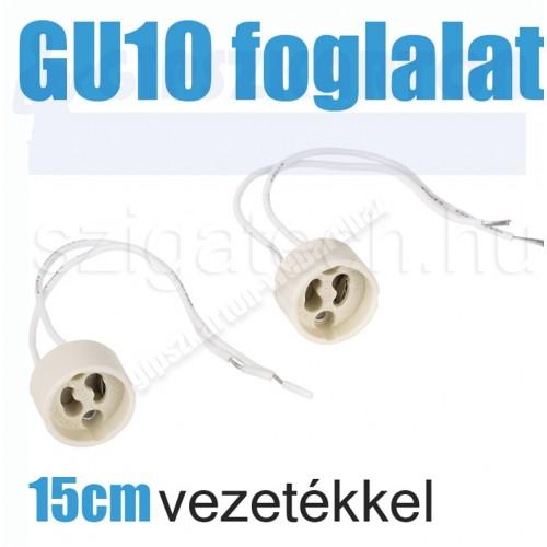 GU 10 foglalat / kerámia