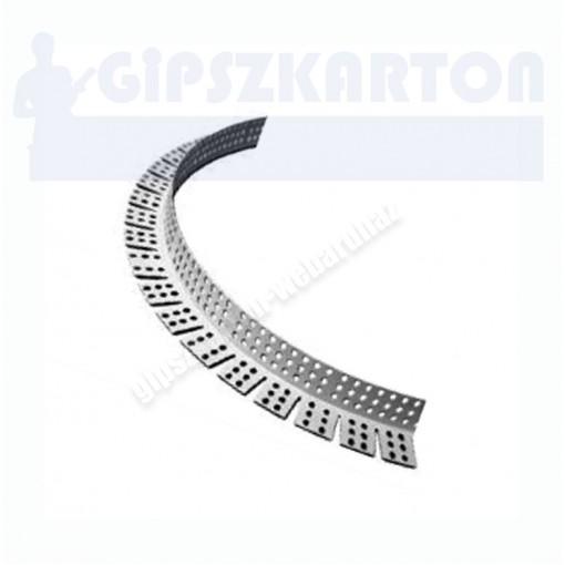Gipszkarton ívre hajlítható élvédő 25*25mm