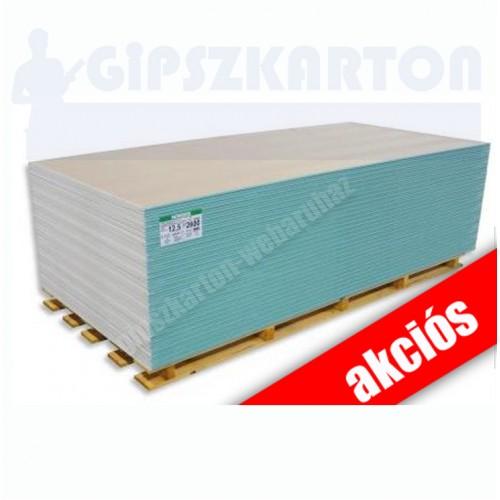 Impregnált gipszkarton / 2mx1,25m