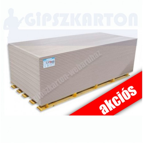 Normál gipszkarton / 2mx1,25m