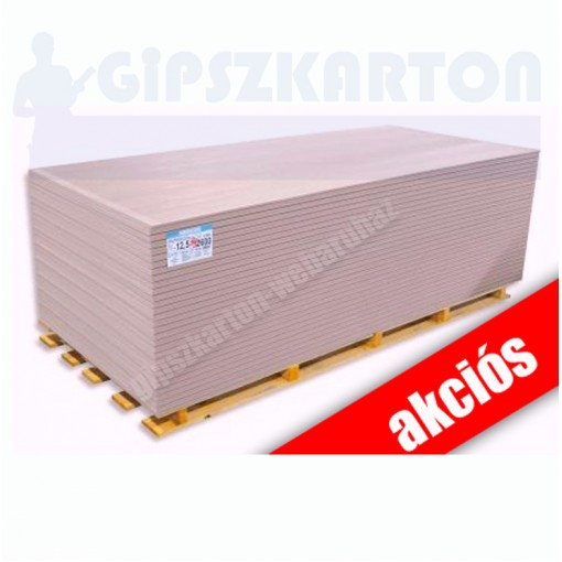 Tűzgátló gipszkarton / 2mx1,25m