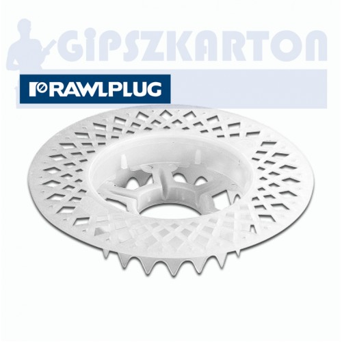 Szigetelés rögzítő süllyesztő tárcsa / RAWLPLUG R-KWX