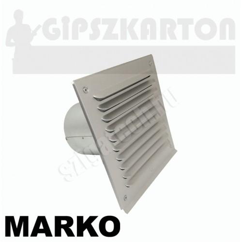MARKO VMH ALU szellőző bekötőcsővel / 180x180