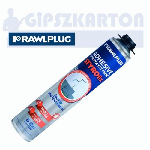 Rawlplug STYROfix polisztirol ragasztóhab 750 ml