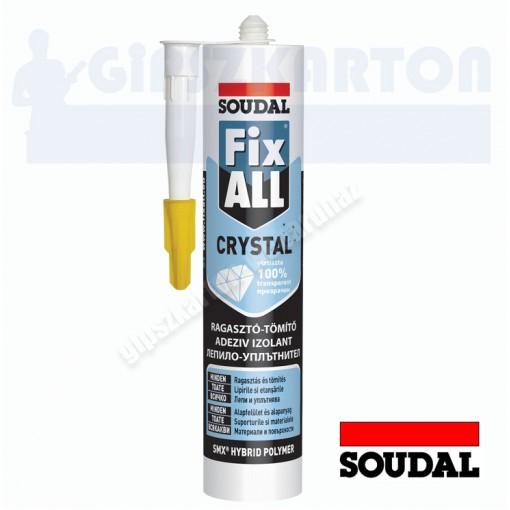 Soudal Fix All Crystal ragasztó