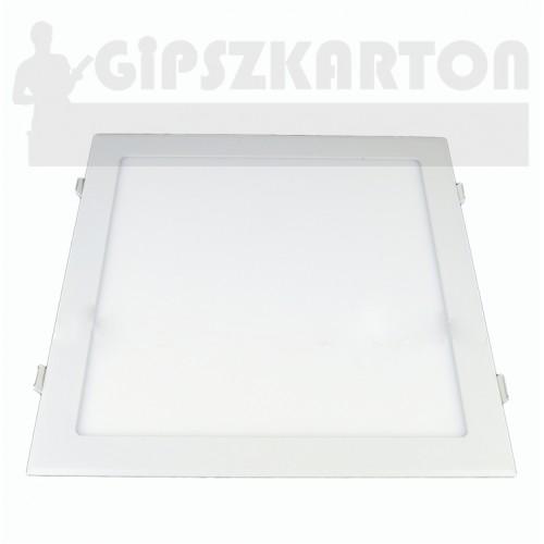 Süllyesztett LED PANEL szögletes táppal / 24W / 285x285 mm
