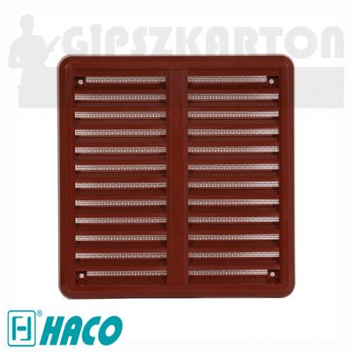 Haco hálós állítható szellőzőrács (barna)