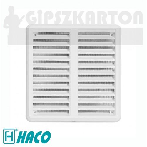 Haco hálós állítható szellőzőrács (fehér)