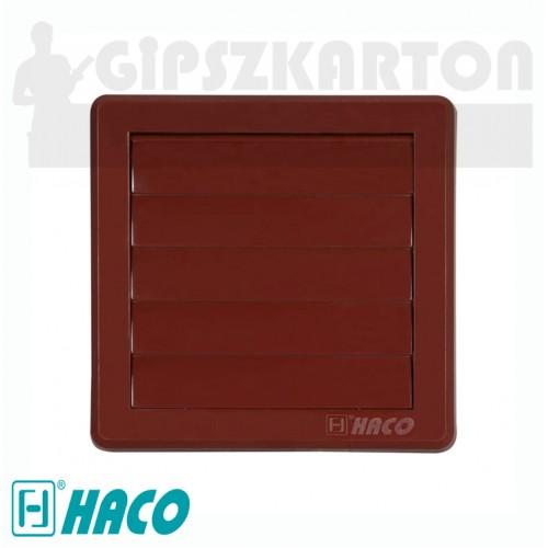 Haco gravitációs szellőzőrács (barna)