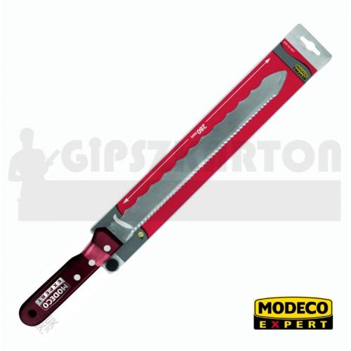 Szigetelőanyag vágó kés / MODECO / 280 mm