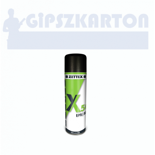 Zettex X50 EPS/XPS ragasztó spray 500ml