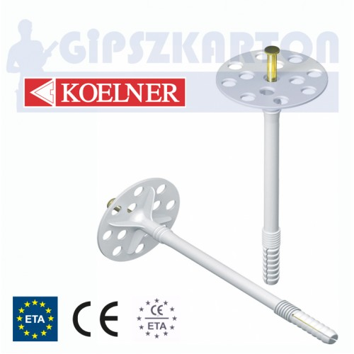 Szigetelés rögzítő fémszeges / KO-KI 10M