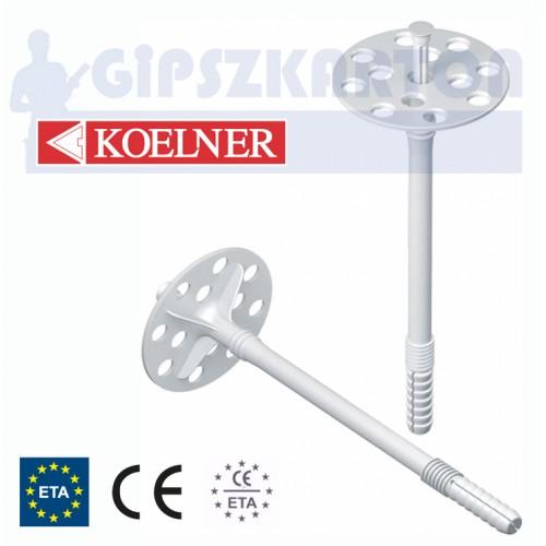 Szigetelés rögzítő műanyag szeggel / KO-KI 10M