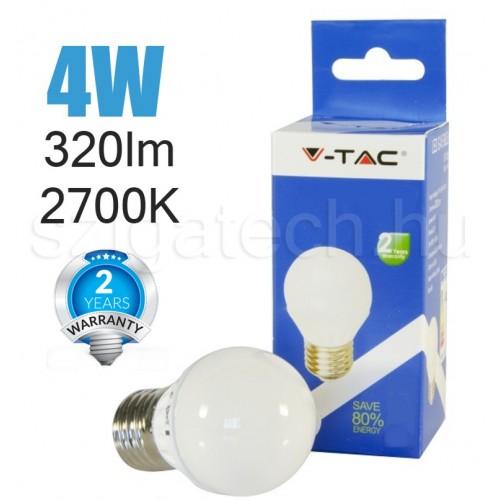 LED kisgömb izzó / 4W / E27
