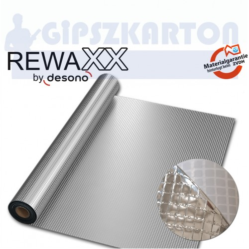 REWAXX METAL-PRO® S130 / hálóerősített hőtükrös párafékező fólia