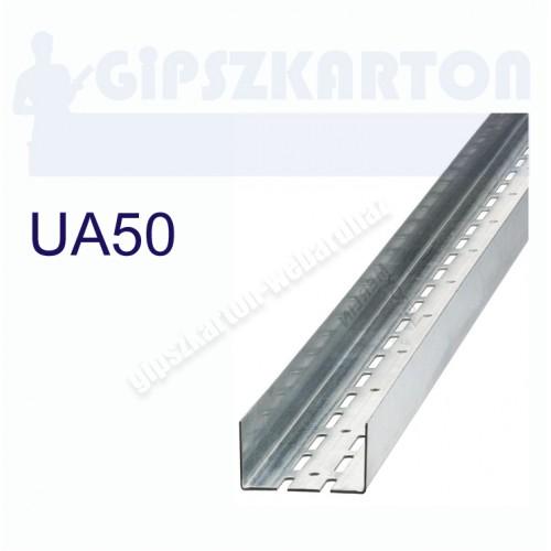 Gipszkarton merevítő profil UA50